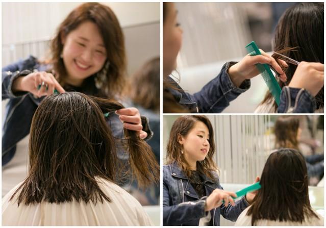小VEGA的头发已被剪短了约20厘米,终于向成熟的女性迈进了一步。