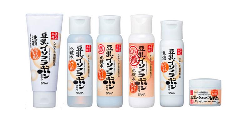 莎娜豆乳护肤产品