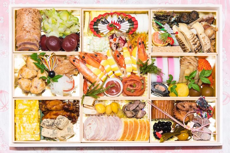 年节菜是与年神一起享用的日本传统料理