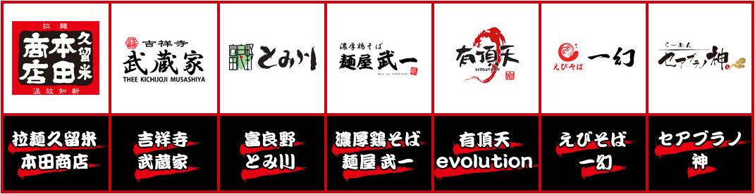 首次引进中国大陆的7家拉面店铺