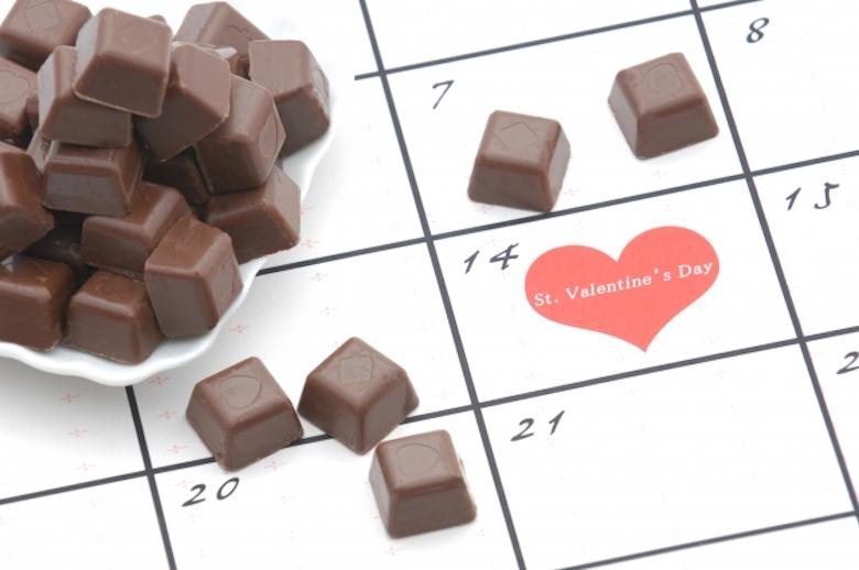 爱情巧克力&友情巧克力