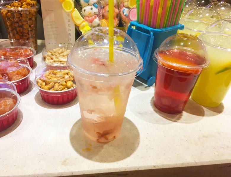 极乐汤 金沙江馆饮料吧台