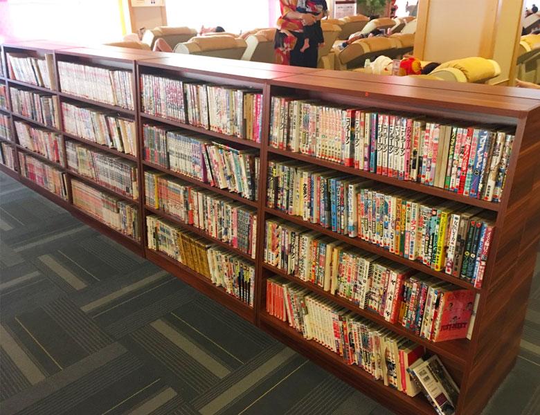 极乐汤 金沙江馆日本漫画约有1万余册