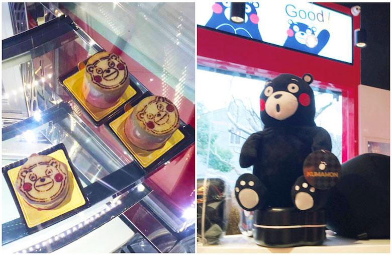 熊本熊的主题咖啡馆 KUMA cafe