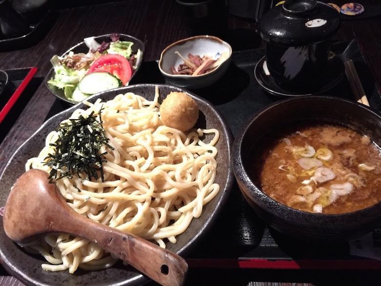 照片为つけ麺屋 家康【味噌蘸面】