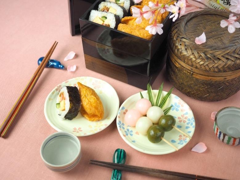 赏樱 野餐