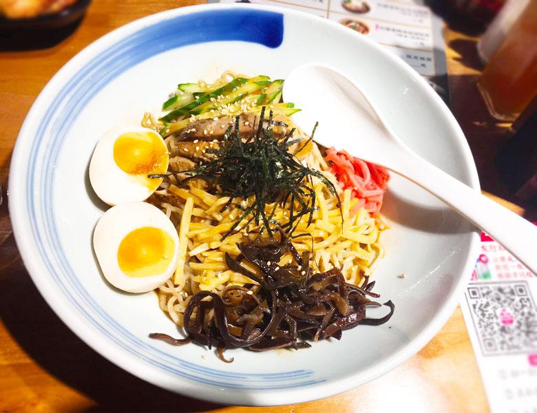 富良野 富川 北海道芝麻酱凉拌面