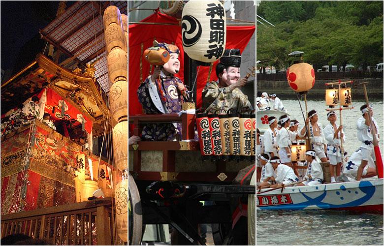 日本的三大夏日祭