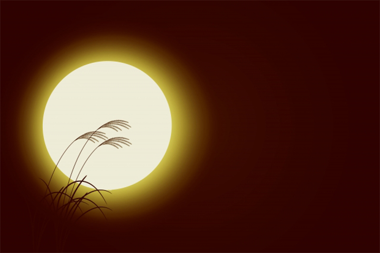 日本平安时代的赏月盛宴